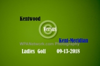 Gallery: Girls Golf Kent Meridian @ Kentwood